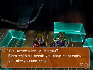 [Image of Zero saying to Sigma, 'You never give up, do you?']